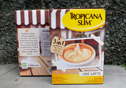 review gratis Tropicana Slim Cafe Latte