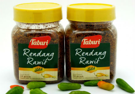 review gratis Taburi Rendang Rawit