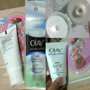 image review Olay Natural White Insta-Glowing Fairness Cream