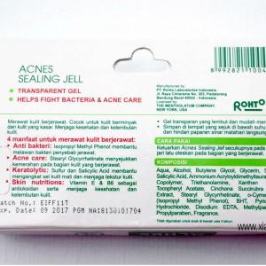 gambar review ke-4 untuk Acnes Sealing Jell
