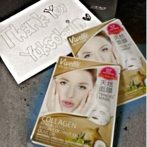 gambar review ke-1 untuk Vivelle Colagen Mask Bengkoang