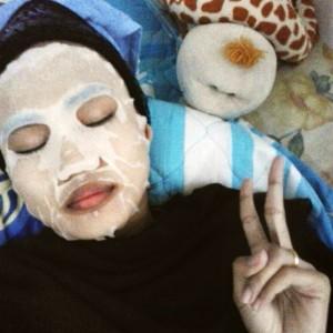 gambar review ke-2 untuk Vivelle Colagen Mask Bengkoang