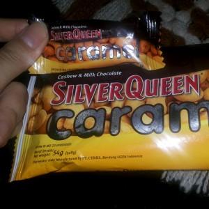 gambar review ke-1 untuk SilverQueen Caramel