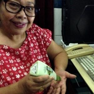 gambar review ke-2 untuk Mustika Ratu Zaitun Hand Body Lotion