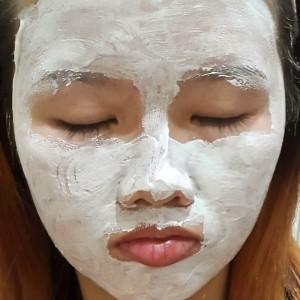 gambar review ke-3 untuk Ovale Bengkoang Facial Mask