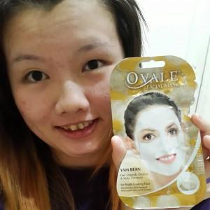 gambar review ke-4 untuk Ovale Bengkoang Facial Mask