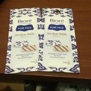 gambar review ke-2 untuk Biore Pore Pack Heritage Batik Motif