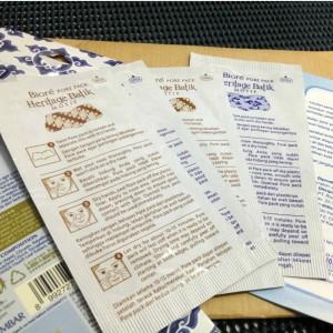 gambar review ke-3 untuk Biore Pore Pack Heritage Batik Motif