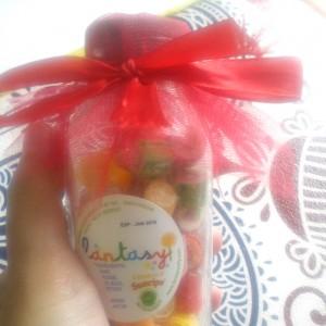 gambar review ke-1 untuk Fantasy Mini Rock Candy Mix Fruit