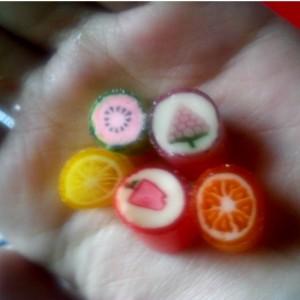gambar review ke-2 untuk Fantasy Mini Rock Candy Mix Fruit