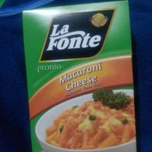 gambar review ke-1 untuk La Fonte Pronto Macaroni Cheese