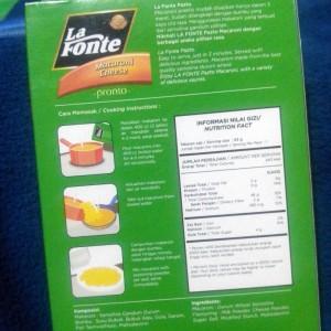 gambar review ke-2 untuk La Fonte Pronto Macaroni Cheese